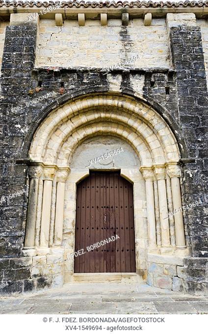 Badostain chapel  Pamplona  Navarre, Spain