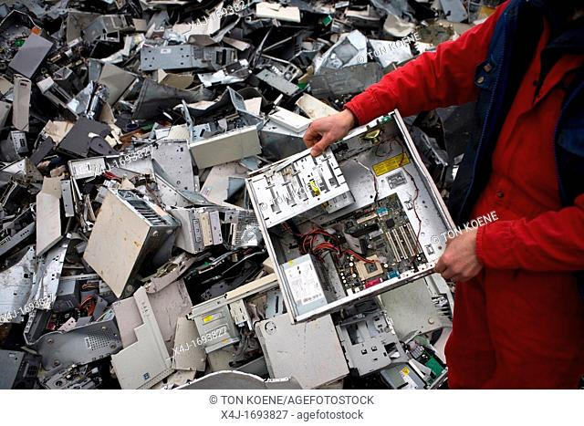 Recycling of white goods such as fridges, computers and other domestic electronic devices All municipalities in The Netherlands are required to provide known...
