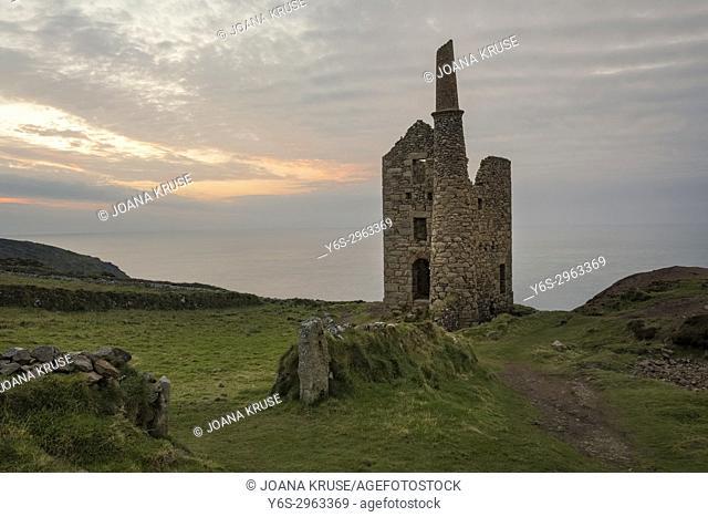 Botallack Mine, Cornwall, England, United Kingdom