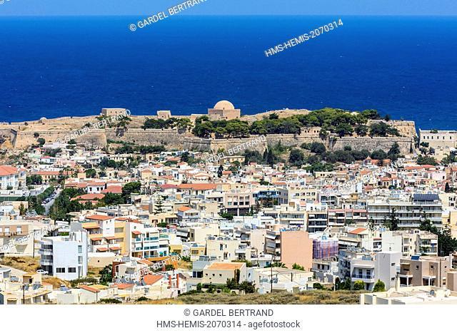 Greece, Crete, the city of Rethymnon