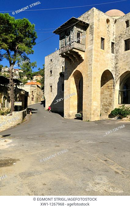 historic palace in the city of Deir el-Qamar, Chouf, Lebanon, Middle east, West Asia
