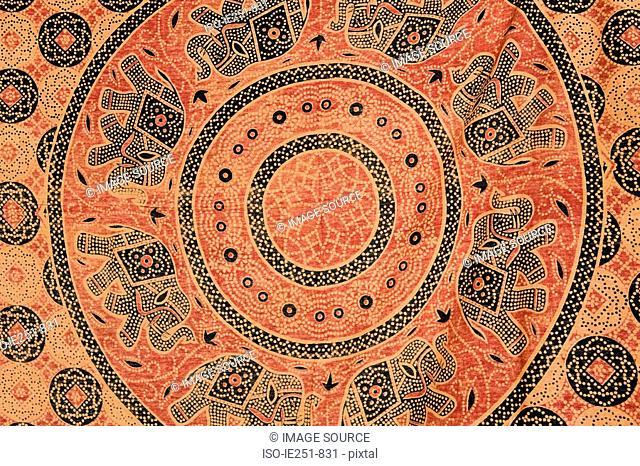 Decorated fabric