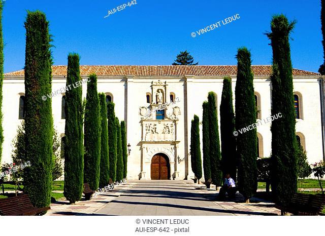 Spain - Castile and Leon - Burgos - Institut of Cardinal Lopez de Mendoza