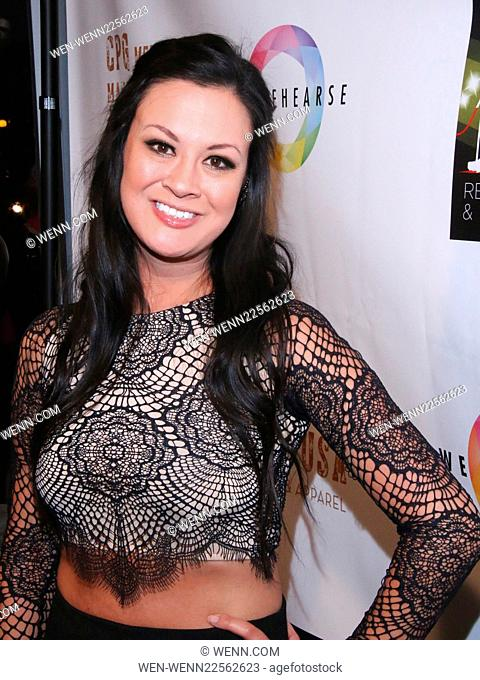 'The Real Housewives of Miami' star Lea Black hosts a launch party for her new book 'Red Carpets and White Lies' at Pump in West Hollywood Featuring: Jade Moser...