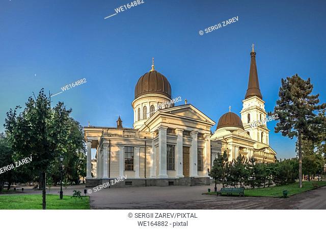 Odessa Orthodox Cathedral of the Saviors Transfiguration in Ukraine, Europe