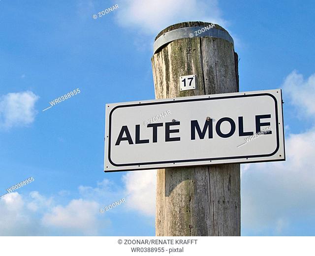Old Mole in Wyk on Foehr, Germany