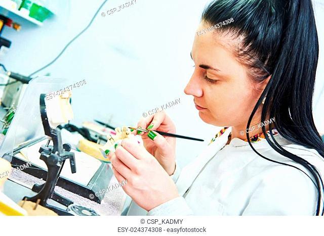 prosthetic dentistry process