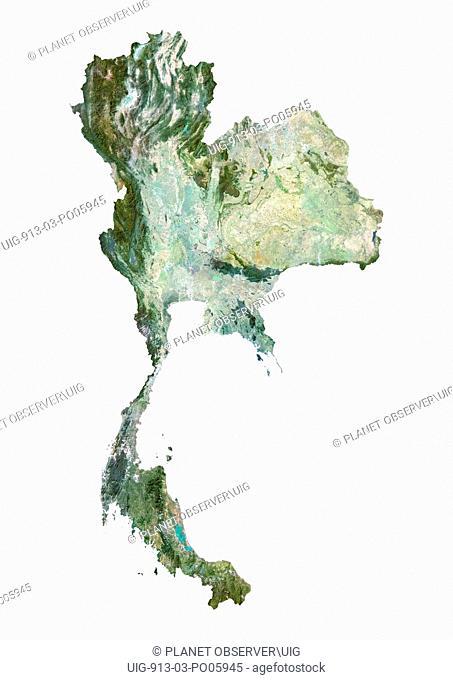 Thailand, Satellite Image