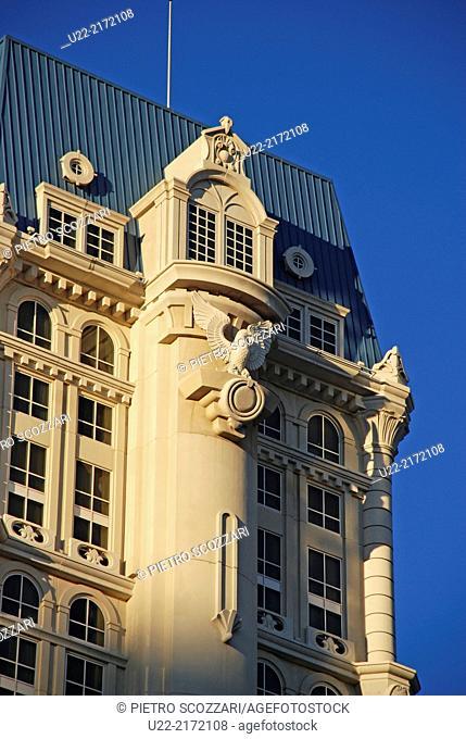 Las Vegas, Nevada, U.S.A., fake French architecture
