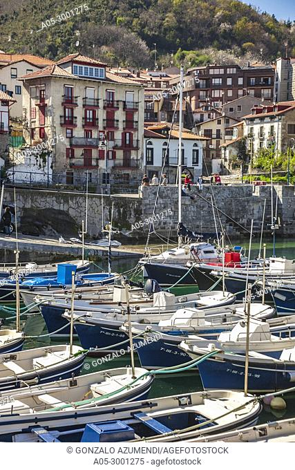 Mundaka. Urdaibai Region. Bizkaia. Basque Country. Spain