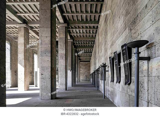 Langemarckhalle, 1936, cult place in Nazism, architect Werner March, now a museum, Olympic Park, Olympiastadion, Berlin, Germany
