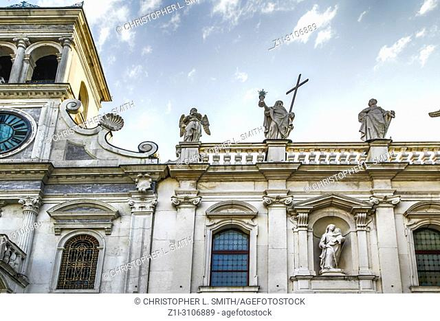 The Church of St. Giacomo in the Piazza San Giacomo in Udine, Italy