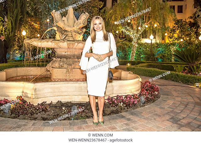 Actress, model and Playboy Playmate Nikki Leigh attends the Smash Global III black tie gala honoring boxing legend Freddie Roach and benefiting The Michael J