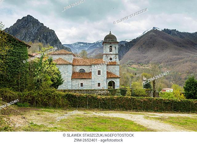 Village church in Oseja de Sajambre, Leon, Spain
