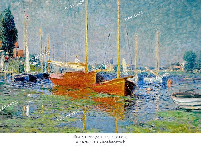Claude Monet . Argenteuil . Musée de l'Orangerie - Paris