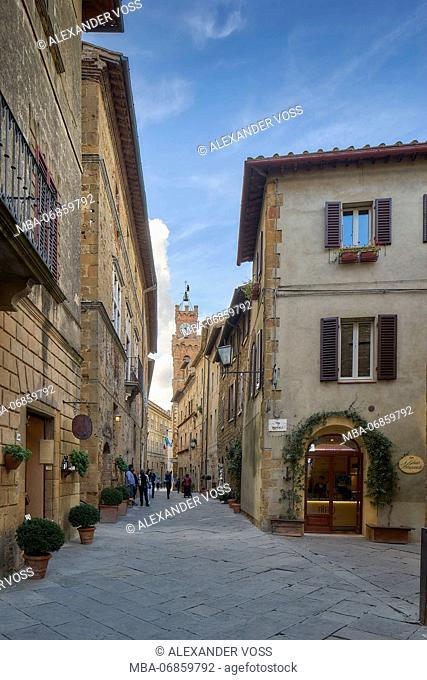 Pienza, Val D'Orcia, Tuscany, Italy