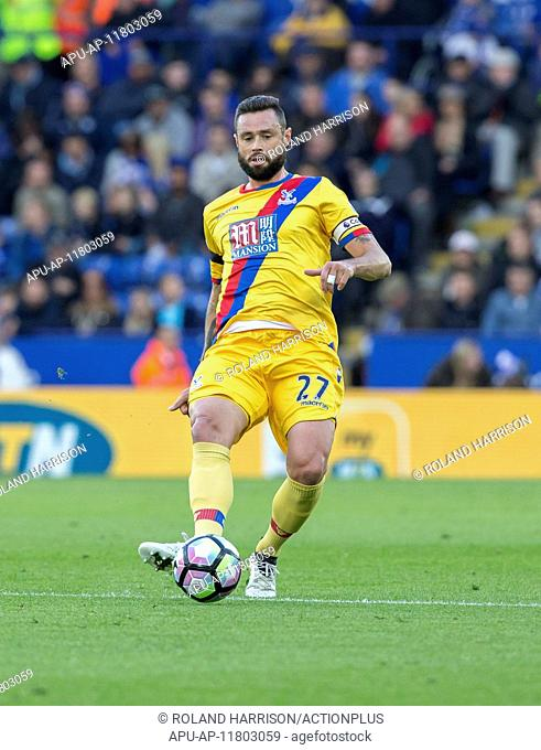 2016 Premier League Football Leicester v Crystal Palace Oct 22nd. 22.10.2016. King Power Stadium, Leicester, England. Premier League Football