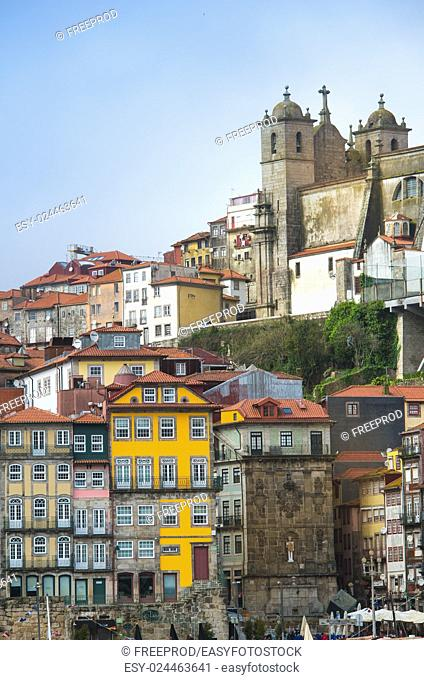 Porto, Portugal old town on the Douro River