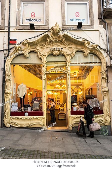 Shop in Oporto, Portugal