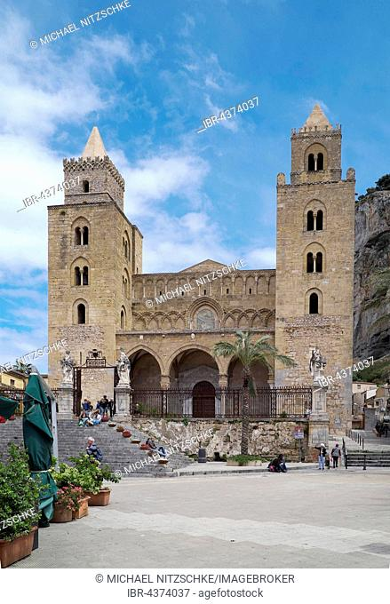 Cefalu Cathedral, Cefalu, Sicily, Italy