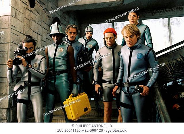 Nov 20, 2004; Rome, Lazio, ITALY; WARIS AHLUWALIA, SEU JORGE, PAWEL WDOWCZAK, NOAH TAYLOR, WILLEM DAFOE, NIELS KOIZUMI and OWEN WILSON star as Vikram Ray
