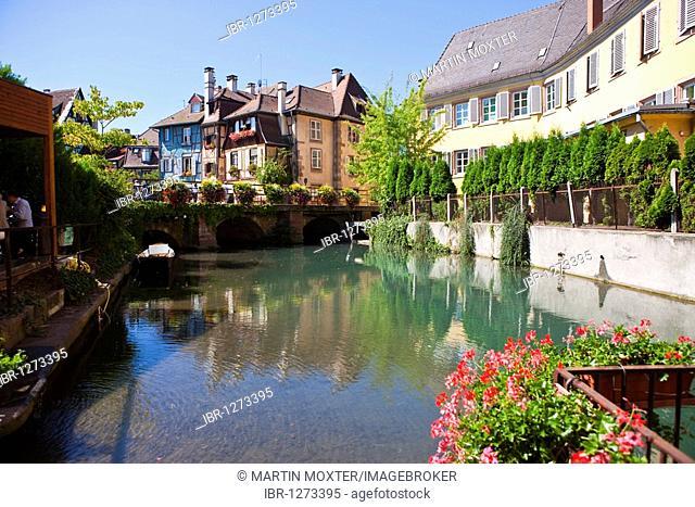 Historic town centre of Colmar, Colmar, Alsace, France, Europe