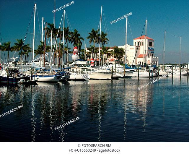 Bradenton, FL, Florida, Manatee River, Twin Dolphin Marina