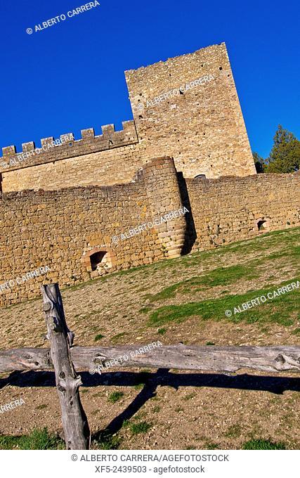 Castle of Pedraza de la Sierra, Mediaeval Village, Segovia, Castilla y León, Spain, Europe