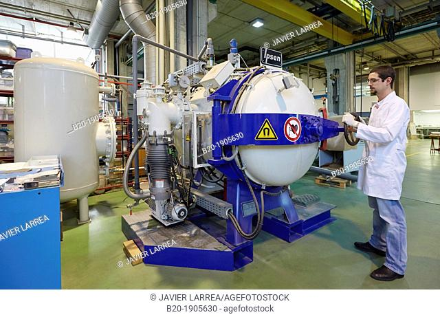 Researcher, High vacuum furnace for realization of braised joints, Industry, Tecnalia Research & innovation, Technology and Research Centre