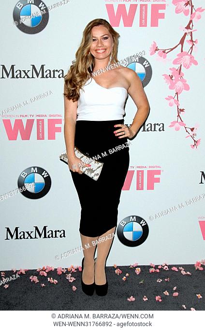 Women In Film 2017 Crystal + Lucy Awards held at The Beverly Hilton Hotel. Featuring: Guest Where: Los Angeles, California