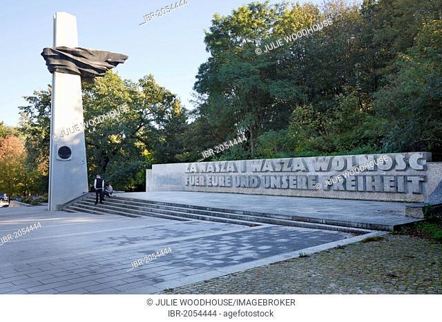 Memorial toPolishSoldiers and German Anti-Fascists, VolksparkFriedrichshain, Berlin, Germany, Europe