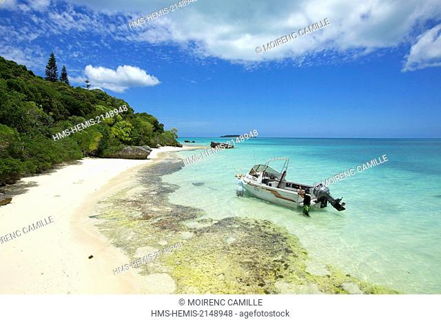 France, New Caledonia, Isle of Pines, Pointe Ita Lagoon listed as World Heritage by UNESCO