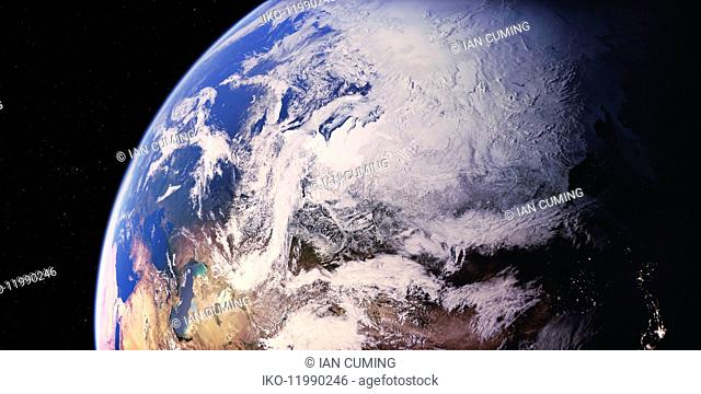 North Asia from space