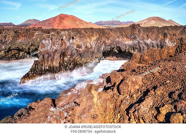 Los Hervideros, Lanzarote, Canary Islands, Spain