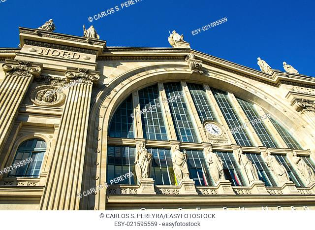 Nord station in Paris, France