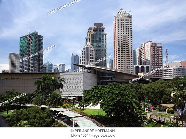 Greenbelt 5 shopping mall in Greenbelt Park in Makati City, Makati City, Manila, Luzon, Philippines, Asia