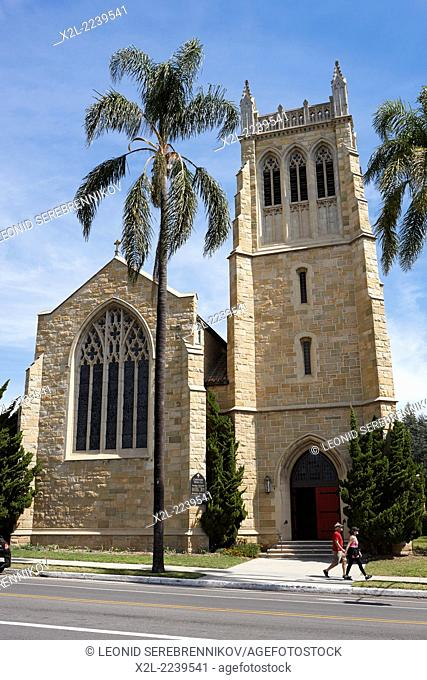 Trinity Episcopal Church. Santa Barbara, California, USA
