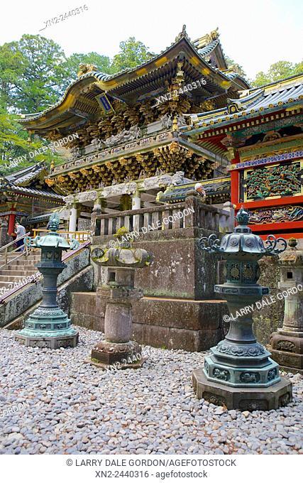 Nikko Toshogu Shinto shrine. Tochigi, Japan