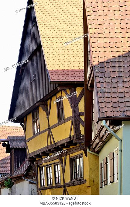 Dinkelsbühl, half-timbered house at the Old Town