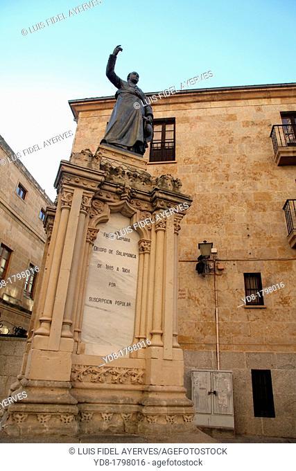 Monument to Father Camara, Bishop of Salamanca 1885-1904, Salamanca, Castilla y Leon, Spain, Europe