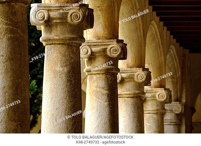 claustro de Santo Domingo, 1730, Inca, Majorca, Balearic Islands, Spain