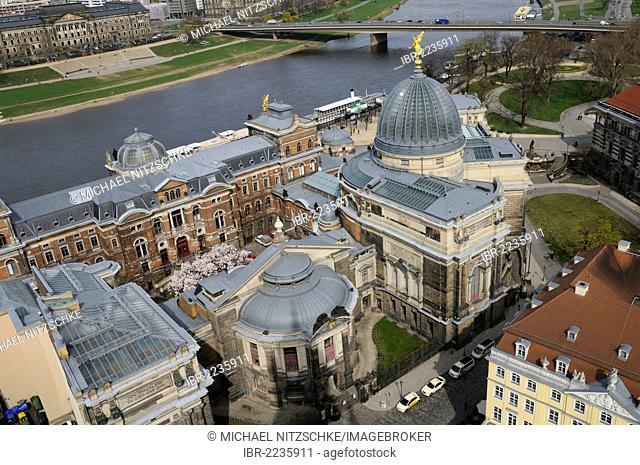 Dresden Academy of Fine Arts, Dresden, Saxony, Germany, Europe