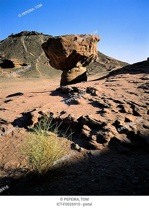 Israel, Eilat vicinity, Negev desert, Timna Park, the mushroom