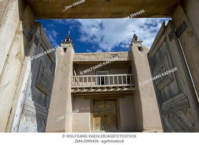 The San Jose de Gracia Church, built in 1760, also known as Church of Santo Tomas Del Rio de Las Trampas, is a historic church on the main plaza of Las Trampas