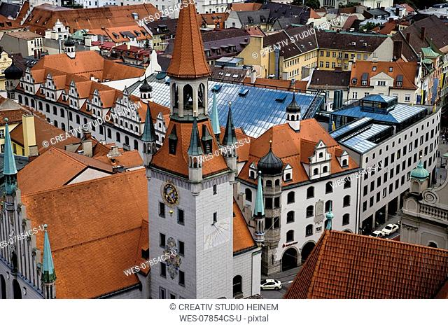 Germany, Bavaria, Munich, Old town hall