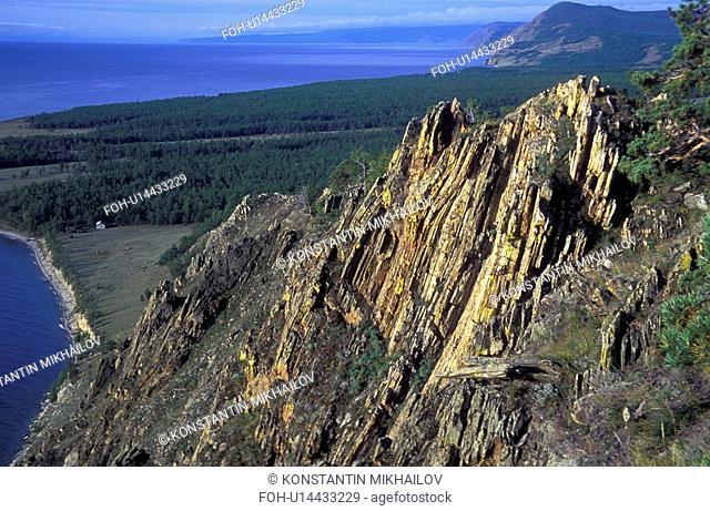 Baikal, East Siberia, Eatern Siberia, Siberia, land forms, landscape, mountainous