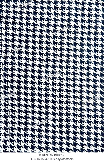 Background from knitted black white fabrics
