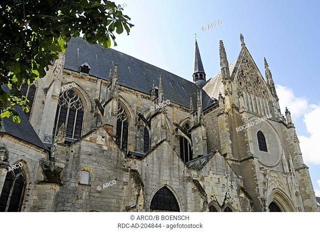 Saint Aignan church, Orleans, Loiret, Centre, France