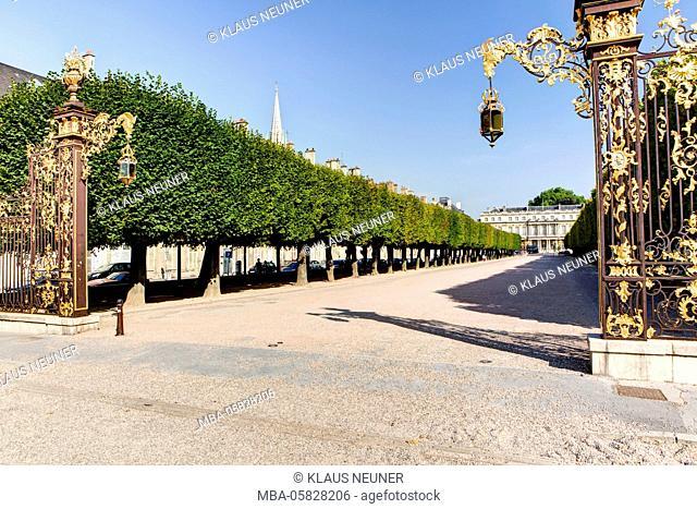 Place de la Carrière, Nancy, Département Meurthe-et-Moselle, France