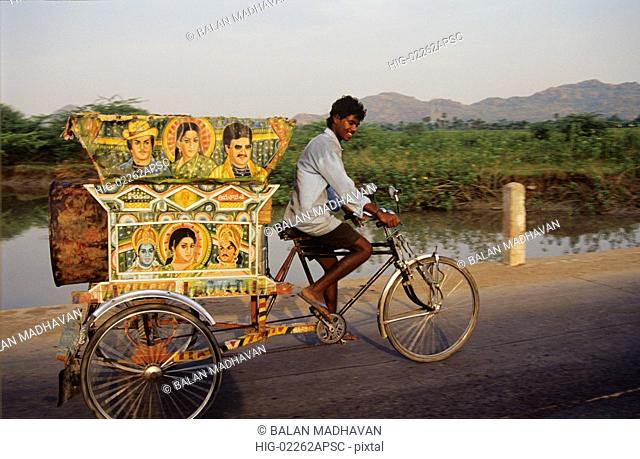 CYCLE RICKSHAW, ANDHRA PRADESH, INDIA